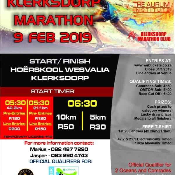 KMK Marathon 2019 Front RFP